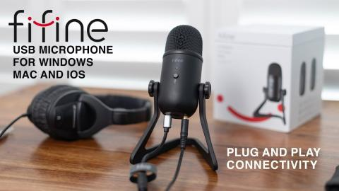 A great USB microphone for your Mac/PC or iPhone under $100 - FiFine K678