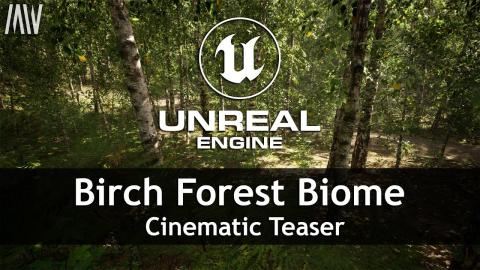 MAWI Birch Forest Biome | Unreal Engine | Cinematic Teaser