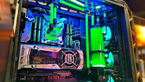 The ULTIMATE Custom Water Cooled PC Builds of Intel Extreme Masters 2018 #IEM