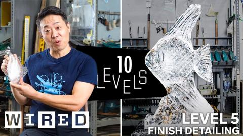 10 Levels of Ice Sculpture: Easy to Complex | WIRED