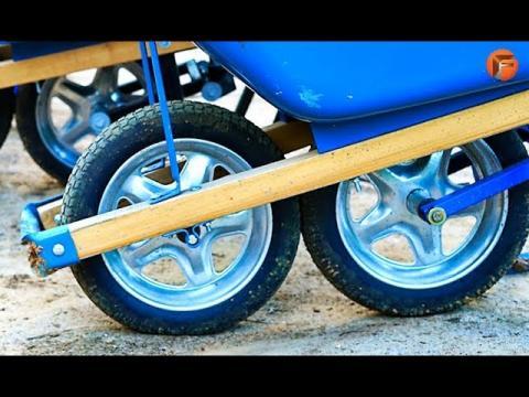 10 Unbelievable Wheel Barrow & Cart Designs