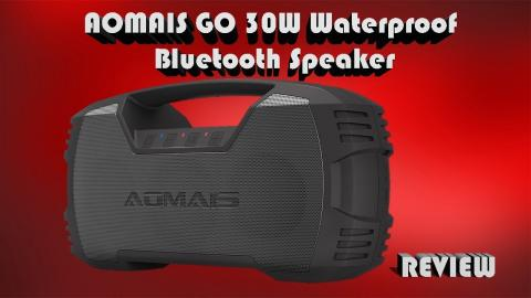 AOMAIS GO IPX7 Waterproof Bluetooth Speaker Review