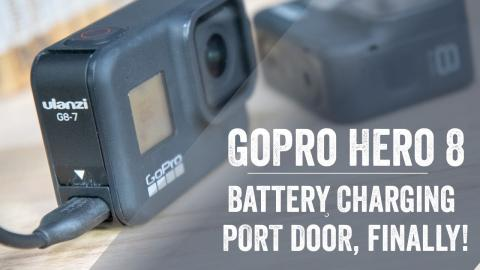 GoPro Hero 8 Charging Port Battery Door! Test & Review!