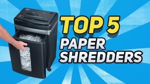 ▶️Best Paper Shredders in 2019