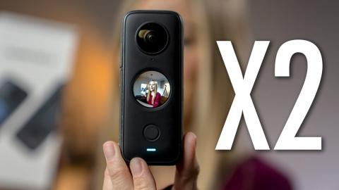 My favorite camera just got better.. Insta 360 ONE X2 Unboxing and first impressions!
