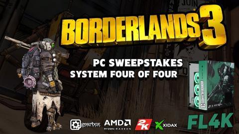Xidax - Borderlands3 Fl4k custom themed Sweepstakes