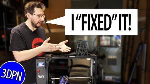 "I ""Fixed"" the Lulzbot TAZ6 Spool Holder"