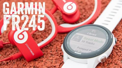 Garmin Forerunner 245 Music Review: 11 New Things To Know // Hands-on Details
