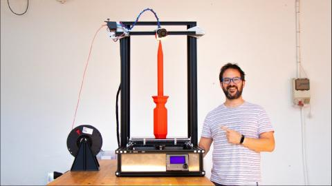 ALL METAL 3D PRINTER FROM SCRATCH (NO 3D printed plastic parts)