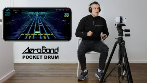 Aeroband Pocket Drum - A new way to be a musician