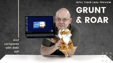Intel Tiger Lake Preview with Benchmarks