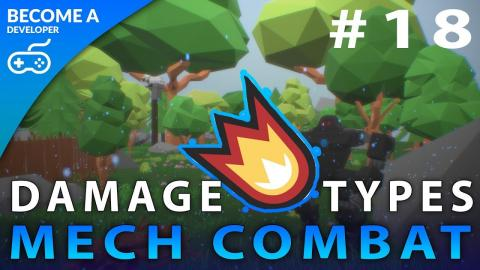 Damage Types - #18 Creating A Mech Combat Game with Unreal Engine 4