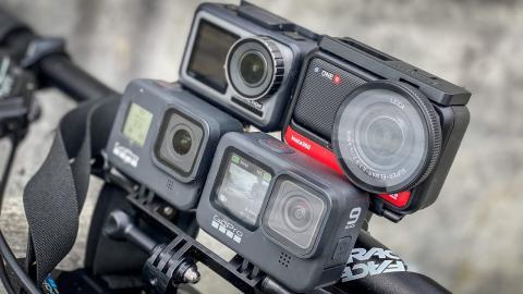 GoPro Hero 9 Footage Comparison Extravaganza // vs Hero 8, DJI OSMO Action, Insta360 ONE R