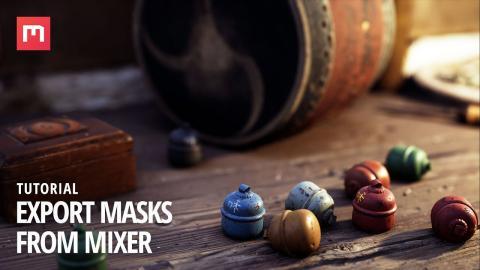 Tutorial: Export Masks from Quixel Mixer