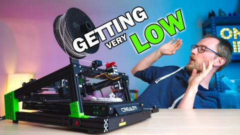The lowest belt printer you've ever seen!