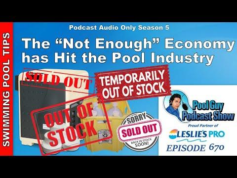 """The """"Not Enough"""" Economy has Hit the Pool Industry!"""