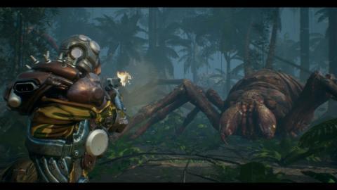 ☑️ Spider Monster Attack (Speed Scene Design / Unreal Engine 4)