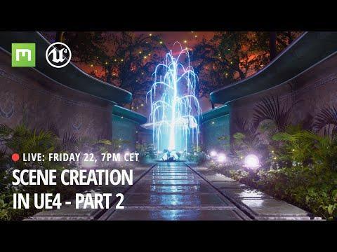 Scene Creation Workflow in UE4 part 2