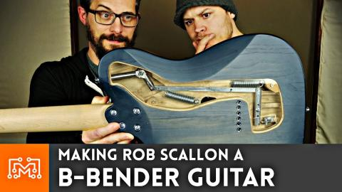 Making A B Bender Guitar for Rob Scallon