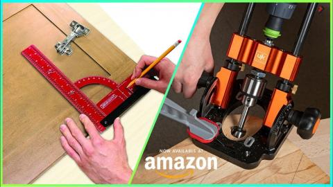 7 New Woodworking Tools You Should Have Available On Amazon