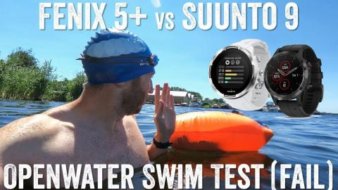 Fenix 5 Plus vs Suunto 9: Openwater Swim Shootout (Failboat)
