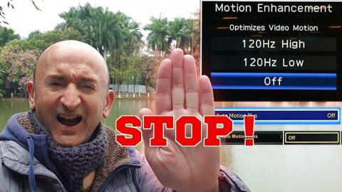 STOP ! aux réglages des TV qui MASSACRENT les FILMS !