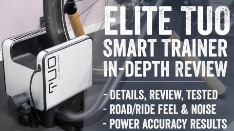 Elite Tuo Smart Trainer Review // Setup, Testing, Accuracy