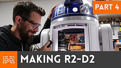 Making R2-D2 Part 4 // Electronics & Remote Control