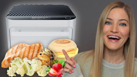 What I Eat In A Day - Brava Oven Review!