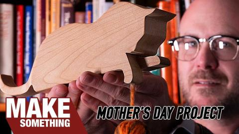 Remaking My First Woodworking Project From High School. Mothers Day Gift.