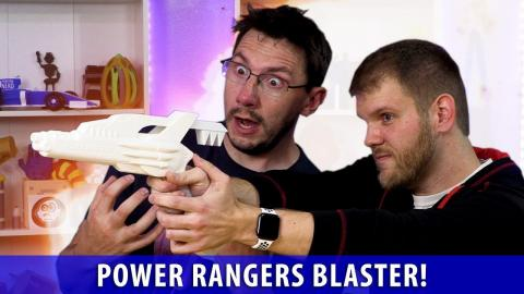 We 3D Printed the Power Rangers Blaster!