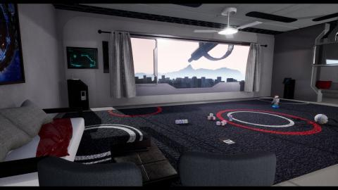 Speed Modeling | Sci Fi Panoramic Room | Autodesk Maya