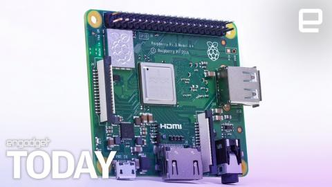 A cheaper, smaller Raspberry Pi 3 is now available   Engadget Today