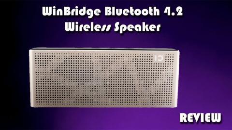 WinBridge WB-T3 Bluetooth 4.2 Wireless Speaker Review