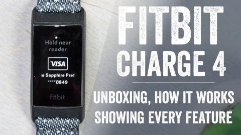 Fitbit Charge 4: Unboxing & Massive User Interface Walk-Through