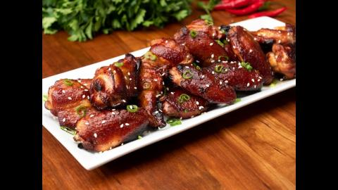 Asian BBQ Chicken Wings | Char-Broil