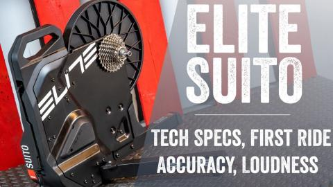 Hands-on: Elite Suito Smart Trainer // $799 with cassette