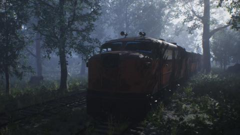 ☑️ Abandoned Train (Speed Level Design / Unreal Engine 4)