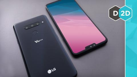 LG V40 - Are 5 Cameras Useful?