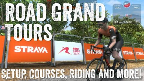 Road Grand Tours Detailed Review: A viable Zwift Competitor?