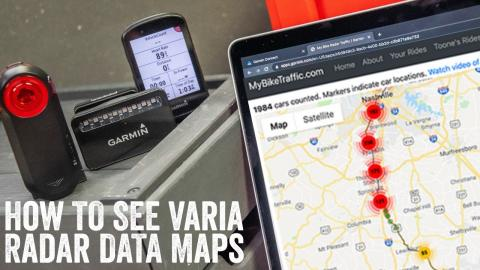 Quick Tips: See Maps of Varia Radar Vehicle Data/Speeds