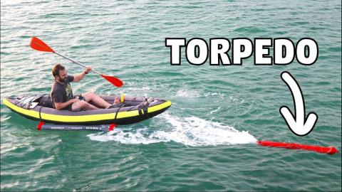 LAUNCHING TORPEDOES FROM A KAYAK