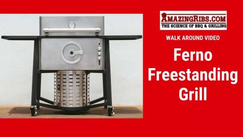 Ferno Freestanding Grill Review - Part 1 AmazingRibs.com Walk Around Video