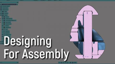 Designing for Assembly in Fusion 360 (Advanced CAD Tutorial)