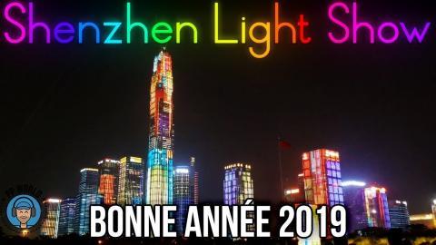 L'un des plus BEAUX Light Shows au MONDE ! (Bonne Année 2019)