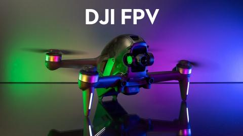 DJI FPV Drone Review & My First FPV Flight