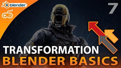 Using Transformation - #7 Blender Beginner Modelling Tutorial Series