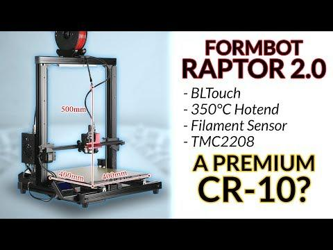 Formbot Raptor 2.0 - the new CR-10? (Live unboxing & first print)