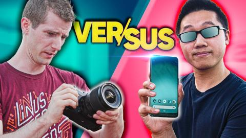 Amateur vs Pro Photography Challenge - Google Pixel 3 vs Fujifilm GFX