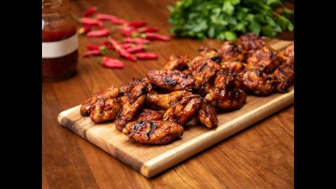 Fireball Whisky Chicken Wings | Char-Broil